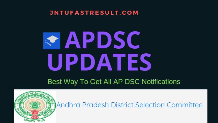 AP DSC Notification 2018