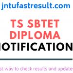 TS Sbtet Updates