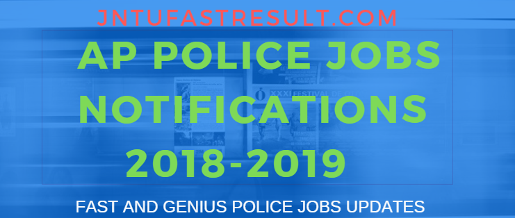 AP Police jobs Notification 2018