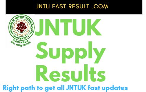 JNTUK SupplyResults