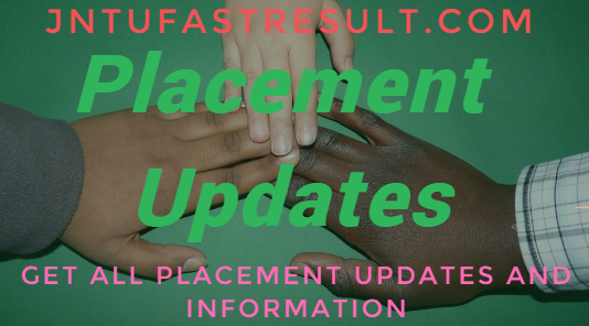 placement updates