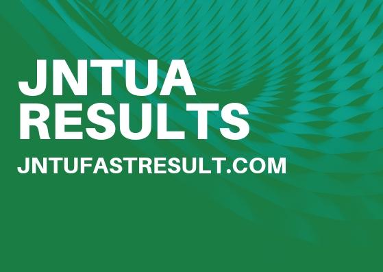 JNTUA B.Tech 4-2 Sem Reg/Supply Exam Results 2019