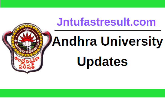 Andhra University Updates