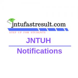 jntuh updates