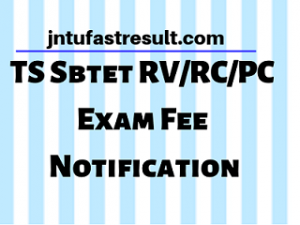 AP/TS SBTET Online Fee Payment Process 2019 Regular/Supply