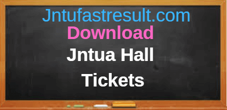 Download Jntua Hall tickets