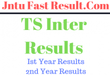 TS Intermediate 1st & 2nd Year Results 2019 | Senior Inter