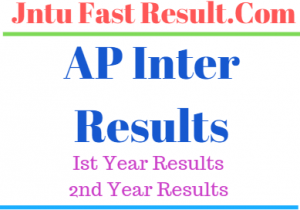AP Inter 1st/2nd year Reverification/Revaluation/Recounting RESULTS