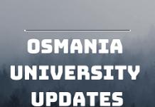 OU Updates