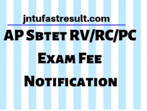AP Sbtet Results
