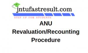 ANU Revaluation Application Form