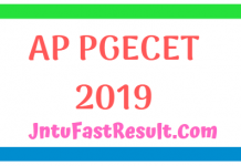 PGECET Results