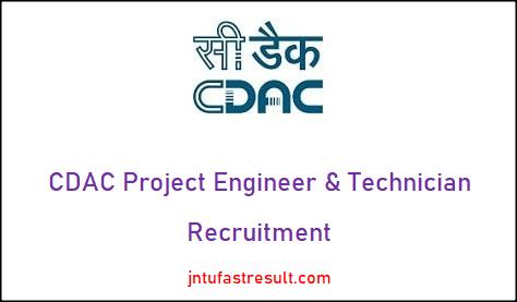 cdac-recruitment
