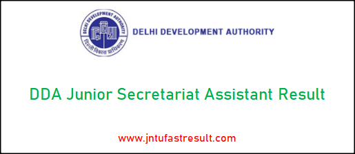 dda-junior-secretariat-assistant-result