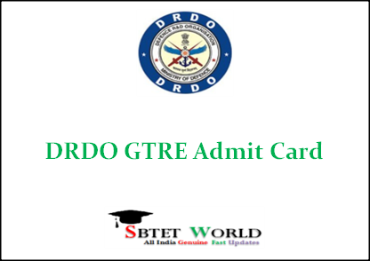 drdo-gtre-admit-card