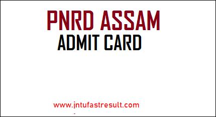 PNRD-Assam-Admit-Card