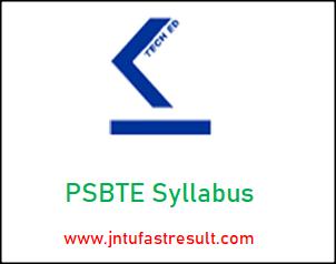 PSBTE Syllabus