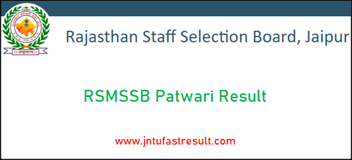 rsmssb-patwari-result