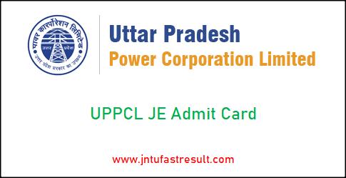 uppcl-je-admit-card
