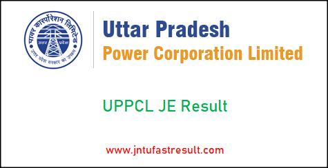 uppcl-je-result