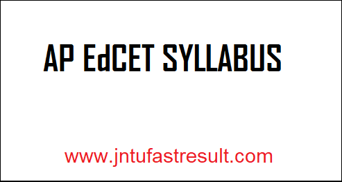 AP-EdCET-Syllabus