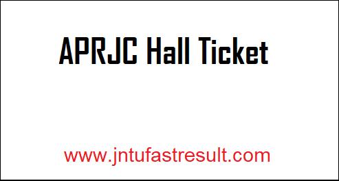 APRJC-Hall-Ticket