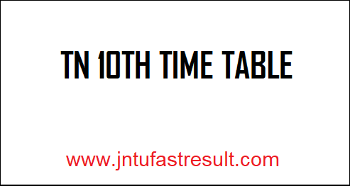 TN-10th-Time-Table