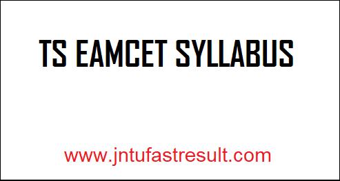 TS-EAMCET-Syllabus