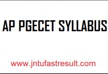 TS-PGECET-Syllabus